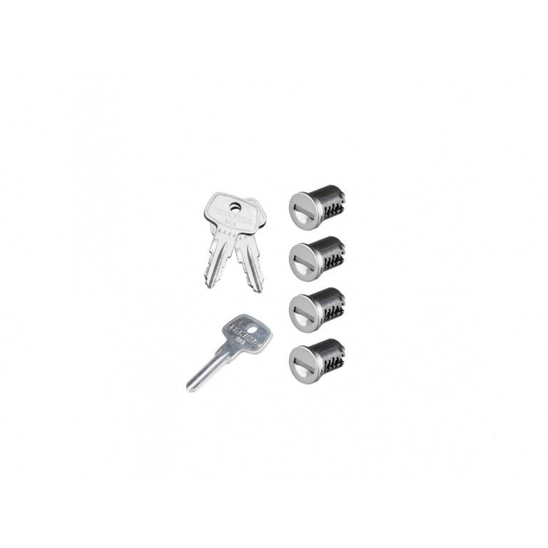 Фото 1: К-т ключей с личинками Yakima SKS Lock 4 Cores Pack