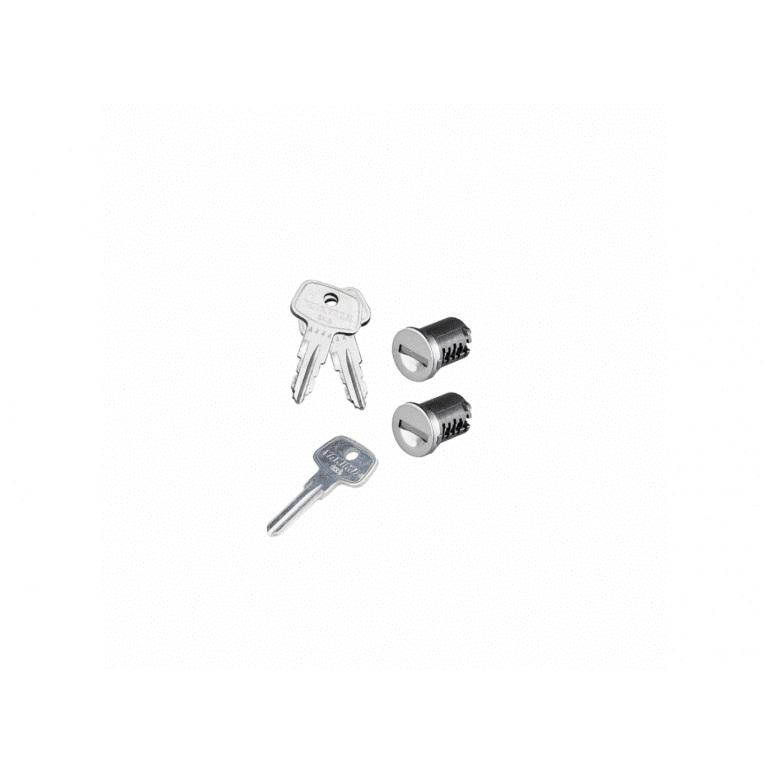 Фото 1: К-т ключей с личинками Yakima SKS Lock 2 Cores Pack