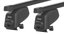 Багажник на рейлинги Atera Steel для Mitsubishi Outlander (mkII) 2007-2009; Citroen C-crosser (mkI) 2007-2013; Peugeot 4007 (mkI) 2007-2013 - Фото 1
