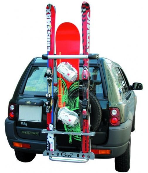 Фото 1: Крепление для лыж на зап.колесо GeV Portasci 4x4 8992